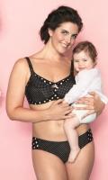Podprsenka na kojení s pěnovou výztuží Anita 5034 Polka Dot